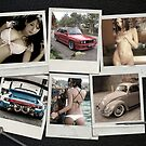 DECEMBER - Garage Dreams  - cars &amp; girls by Benjamin Whealing