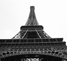 Eiffel Tower from Ground by Tribble