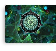 Cosmic Intelligence Agency Canvas Print