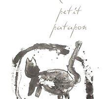 Ronron petit patapon by LeblancArtiste