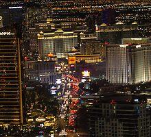 Cityscape Las Vegas, Nevada by Michael Rogers