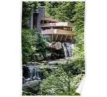 Falling Water, Kaufman House, Frank Lloyd Wright Poster