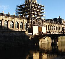 """Zwinger"" in Dresden - reconstruction by Natas"