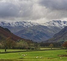 The Lake District..Great Langdale by VoluntaryRanger