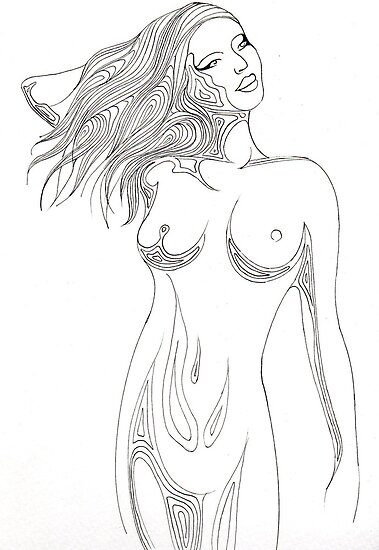 Nude 3 by Lyndsey Hale