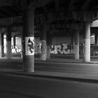 Clifton Hill Freeway overpass by awursterphotos