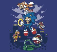Super Sonic Bros. T-Shirt