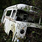 An Old Ambulance in a Field by Jason Clarke