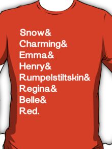 Once Upon a Characters T-Shirt