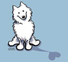 Samoyed Love Shadow by offleashart
