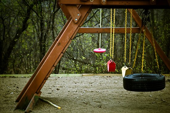 Empty Playground by Sharlene Rens