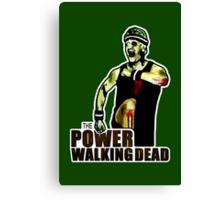 The Power Walking Dead (on Green) [ iPad / iPhone / iPod Case | Tshirt | Print ] Canvas Print