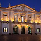 Nighttime At Faro City Hall by manateevoyager