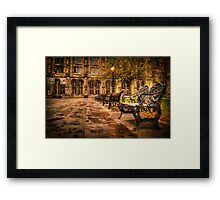 Glasgow University Quadrant Framed Print