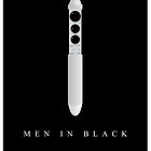 Men In Black Movie Poster by Nick Sexton