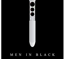 Men In Black Movie Poster by Nick Sexton