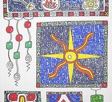 Meditation: Christmas Star 1 by Susan Genge