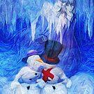 Christmas Angel by Rick Wollschleger