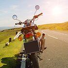 Royal Enfield Vintage motorcycle / Motorbike iphone case cover by David Evans