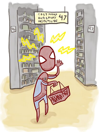 Spider-sense is Shopp-ling? by thesnuttch