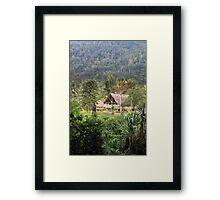 Village Homes  Framed Print