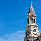 Town Hall Clock Tower, Fremantle, W.A. by Sandra Chung