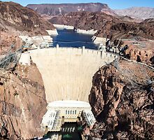 Hoover Dam - Lake Mead by Michael Rogers