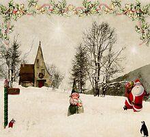 Going Home for Christmas... by Karen  Helgesen