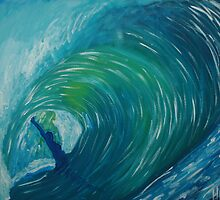 Andrew's Wave by paintshed