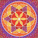 Sacred Geometry Star Flower by Elspeth McLean