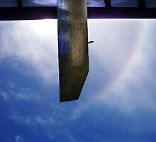 Rainbow Sky In Broad Daylight One - 02 12 12 by Robert Phillips