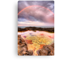 Rocks 'n' Rainbows Canvas Print