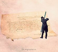 The signer by Yann Pendaries