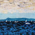 Howth Head and Dublin Bay by eolai
