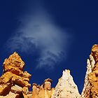 Mystic cloud on Bryce Canyon, Utah by Claudio Del Luongo