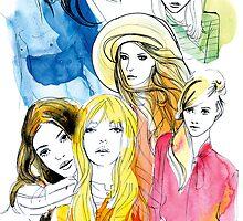 Ink Mix girls by mekel
