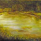 Pond with Fish by Patrick  McMullen