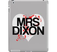 Mrs Dixon iPad Case/Skin