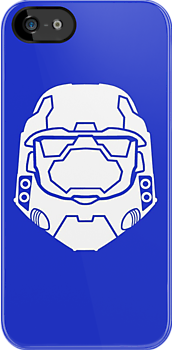 Spartan - Blue Team (White Helmet) by Braden  Stevenson