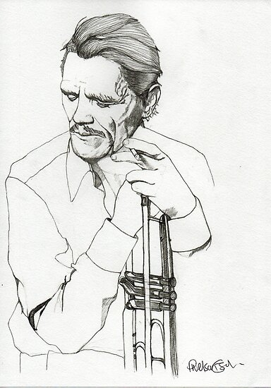 Chet Baker  by Paul  Nelson-Esch