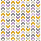 Patterned Arrowhead Chevron by ChunkyDesign