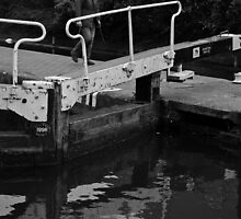 Lock Gates by Iain McGillivray