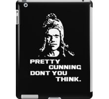Pretty cunning don't you think iPad Case/Skin