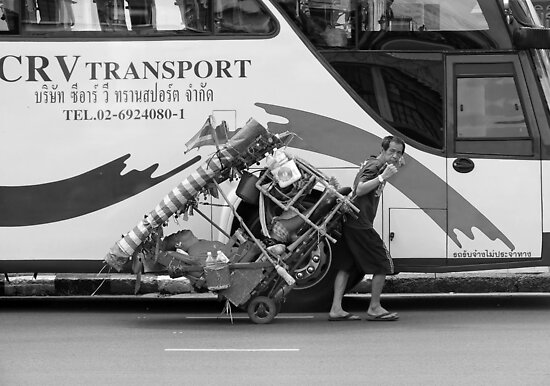 Thai Transport  by Lucinda Walter
