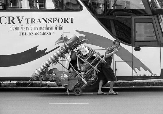 Thai Transport  by Lucinda Walter