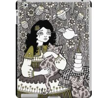 Flying Cupcakes iPad Case/Skin