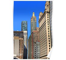 Chicago Skyscrapers Poster