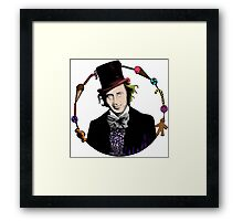Merry Christmas From The Chocolate Factory Framed Print