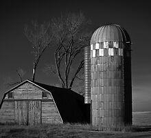 North Dakota Study in B&W IV by Nate Welk