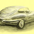 Jaguar E-Type by dangerpowers123
